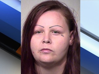 Woman tries to ram cop at Chandler school