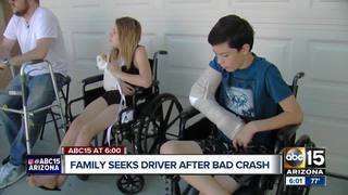 Family recovering after bad crash in Tolleson