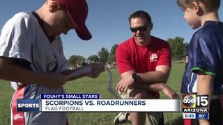 Small Stars: Scorpions vs. Roadrunners football!