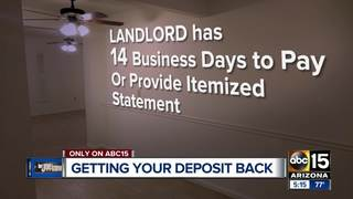When can a landlord keep your deposit?