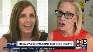 6PM: Senate candidates McSally, Sinema to debate