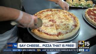 WEDNESDAY: Get a FREE slice of cheese pizza!