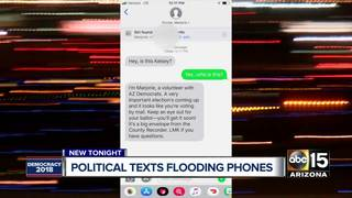 Political texts playing role in AZ election
