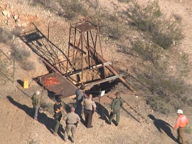MCSO: Man trapped in western AZ mine shaft