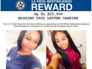 Pregnant postal worker goes missing, $25K reward
