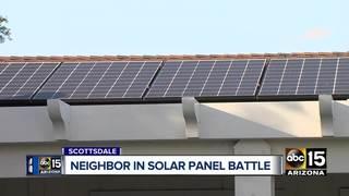 Solar panels causing headache for Valley man