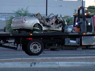 FD: 3 dead, 2 hurt after crash on Bell Road