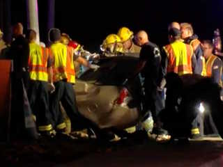 FD: 2 dead after Bell Road rollover crash