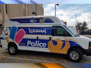 Phoenix PD Ice Cream Truck in service Saturday
