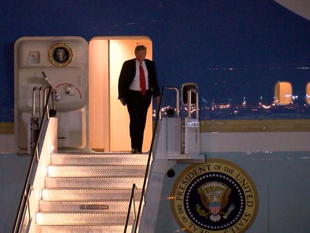 TIMELINE: President Trump visits Phoenix area