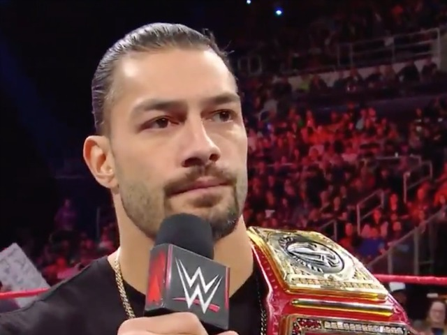 WWE's Roman Reigns announces he has leukemia