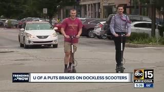 University of Arizona bans electric scooters