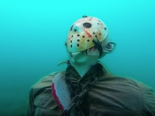 Is 'Jason' statue at bottom of Lake Pleasant?