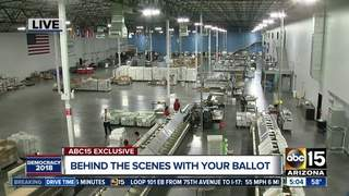How ballots are printed and verified in AZ
