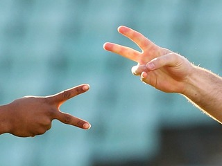 Ref suspended after game of rock-paper-scissors