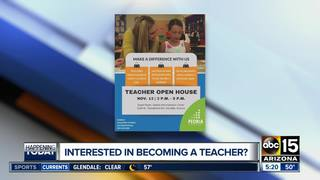 Want to teach? Informational session in Peoria