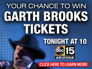 Your chance to win Garth Brooks tickets!