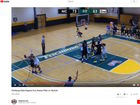 VIDEO: College player under fire for dirty play