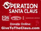 DONATE: Operation Santa Claus Claus-A-Thon