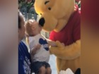 Winnie the Pooh shares moment w/ disabled child!