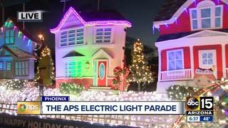 WATCH: APS Electric Light Parade in Phoenix