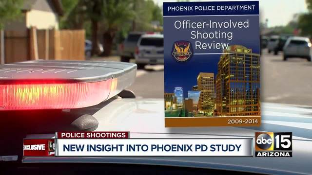 Report on Phoenix officer-involved shootings may be completed by end of year