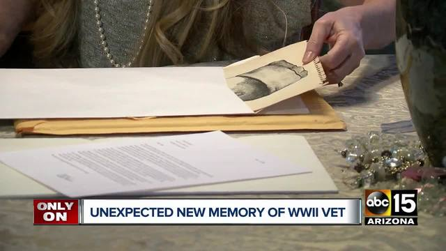 WWII sketch reunited with family after more than 70 years