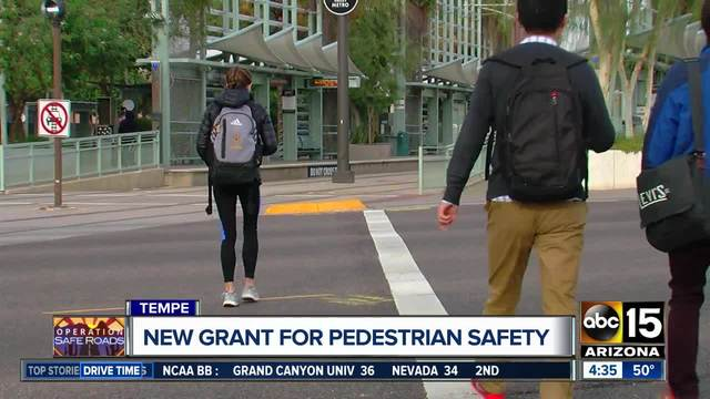 Tempe police working to curb pedestrian crashes